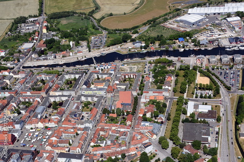 mata magnetyczna Greifswald, Altstadt und Traditionshafen