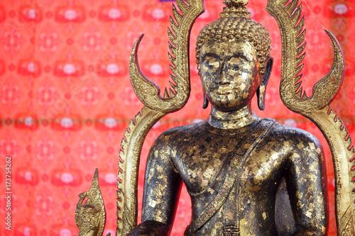 Aluminium Boeddha golden buddha statue