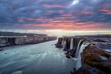 Famous Selfoss waterfall - 173773472