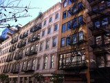 Soho buildings facade, New York - 173778494