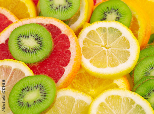 Fruits slices - 173784888