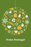 Weihnachtskarte Immobilien, Hausverwaltung - 173815474