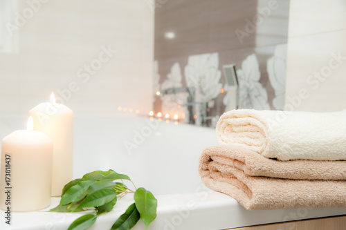 relax in the bathroom / relaxation zone