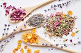 herbal tea ingredients - 173819492