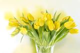 Gelber Tulpenstrauss