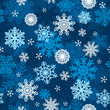 Snowflakes Winter Wallpaper Seamless Pattern