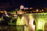 Bridge San Martin in Toledo, Spain