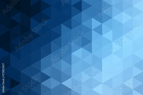 Blue Tone Modern Art Abstract Pattern Pattern