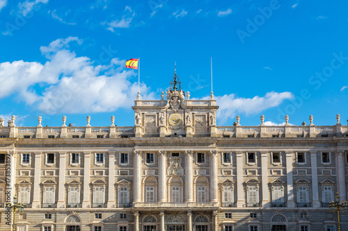 Royal Palace in Madrid, Spain Poster