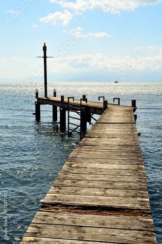 Plexiglas Pier 琵琶湖