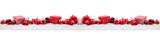 Weihnachten Panorama mit Geschenk und Christbaumkugel - 173905235