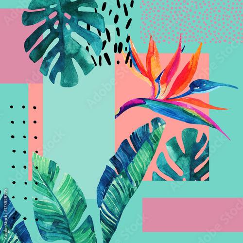 streszczenie-tropikalny-lato-projekt-w-minimalistycznym-stylu