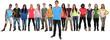 Gruppe Menschen Jugendliche junge Leute willkommen begrüßen einladen jung Freisteller
