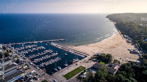 Zdjęcia na płótnie, fototapety na wymiar, obrazy na ścianę : Plaża w Gdynii
