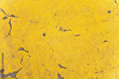 In de dag Stenen Texture Stone Cement Concrete Wall Wallpaper Background Ground Flat Rough Dirty Grunge Color Destroyed Distorted Eroded Old Retro Vintage Decorative Yellow Sun Lines Strokes Organic Sprinkler Close Up