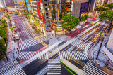 Tokyo, Japan in the Ginza District - 173973439