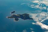 Misery Island, aerial,  Boston, MA, USA on a sunny day - 173976870