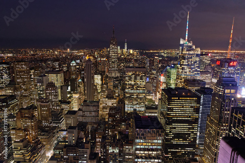 Nuit sur New York Poster