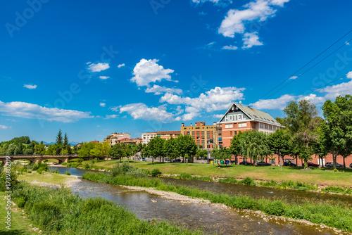 View of Najera town, La Rioja, Spain Poster