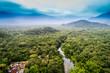 Quadro Aerial View of Amazon Rainforest, South America