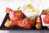 fried chicken leg - 174031664