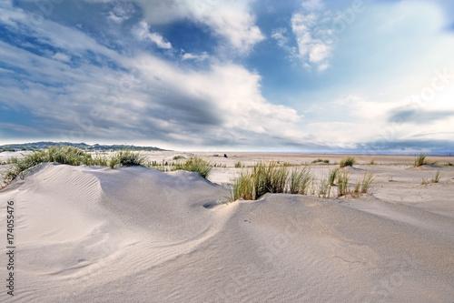 Plexiglas Noordzee Nordsee, Strand auf Langenoog: Dünen, Meer, Entspannung, Ruhe, Erholung, Ferien, Urlaub, Meditation :)