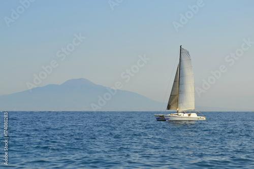 Fotobehang Zeilen Ship