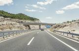 Bridge over a highway.