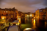 Evening on the Grand Canal in HDR - 174083612