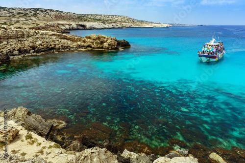Papiers peints Chypre Blue Lagoon coast in Ayia Napa