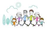 家族:運動、歩く - 174159219
