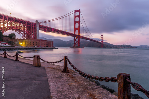 Fotobehang San Francisco Golden Gate Bridge