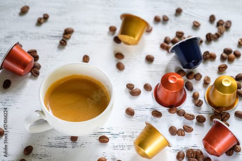 Cup of espresso coffee Poster
