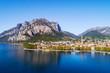 Lecco - Lago di Como (IT) - Vista aerea panoramica della città