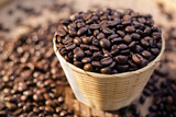 roasted coffee beans, can be use for a background