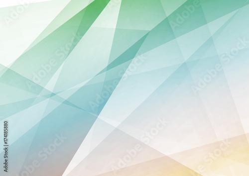 Wall mural Bright triangular modern transparent geometrical background