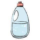 cleaner bottle laundry product vector illustration design - 174190683