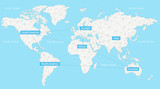 World wide internet network mesh. Social communications background. Earth map