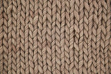 Hand knit woolen texture in full frame - 174259427