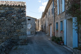 Typical French Village, Ardèche, France - 174263611
