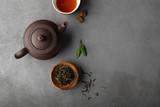Concrete Tea  background - 174285231