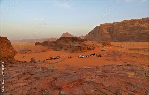 Mit dem Jeep durch Wadi Rum Poster