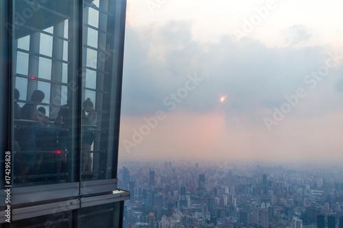 Blick vom Shanghaitower Poster
