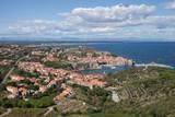 Collioure vue du fort Saint-Elme
