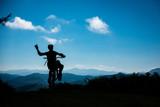 basque wheelie silhouette
