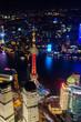Quadro Shanghai bei Nacht
