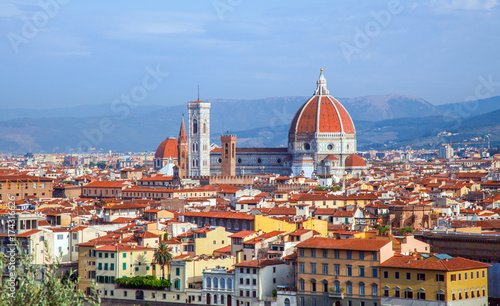 Foto op Plexiglas Florence Florence cathedral Duomo