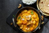 Vegetable or Navratan Korma - Indian Mixed Veg Curry served with Roti and rice - 174320019