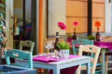 Outdoor cafe in Rome, Lazio, Italy - 174325282