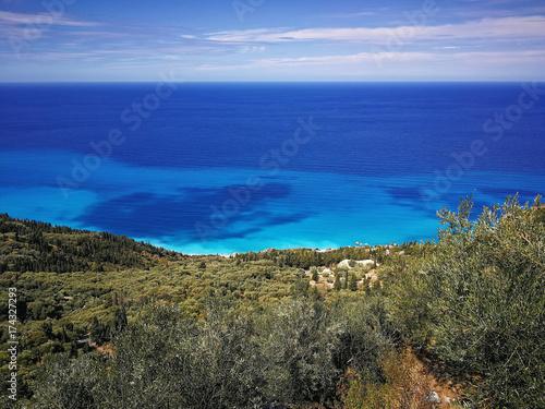 Foto op Canvas Khaki Lefkada island